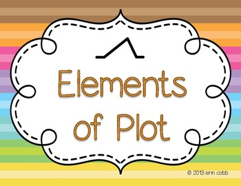 Elements of Plot Poster Set FREE!