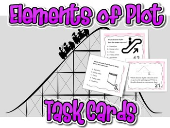 Elements of Plot Task Cards