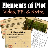 Elements of Plot:Video, PowerPoint, and Student Notes - Di