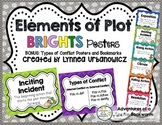 Elements of Plot and Types of Conflict-Posters and Bookmarks