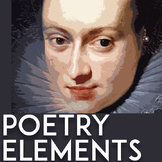 Poetic Devices | Elements of Poetry | Poetic Elements | Poetry Activities