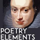 Poetry Unit High School: Poetry Activities | Poetic Device