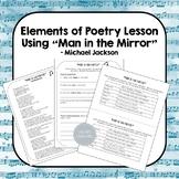 "Elements of Poetry Using ""Man in the Mirror"" Lyrics"