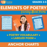 Elements of Poetry Anchor Charts or Posters