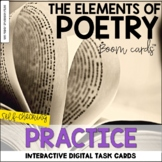Elements of Poetry BOOM Cards™