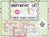 Elements of Poetry {Bulletin Board Posters}