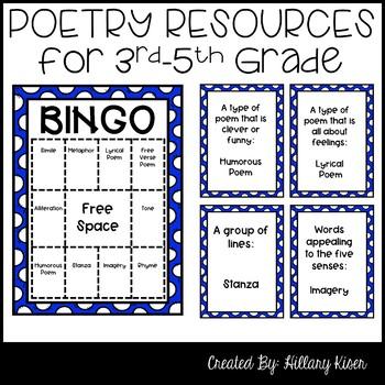 Elements of Poetry Bundle!