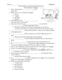 Elements of Poetry Cloze Notes