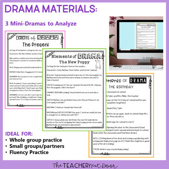 elements of poetry drama and prose for 3rd 5th grade tpt. Black Bedroom Furniture Sets. Home Design Ideas