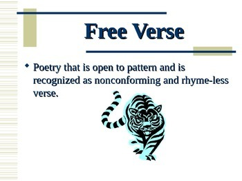 Elements of Poetry PowerPoint