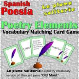Poetry Elements Spanish-Vocabulario de Elementos de la Poe