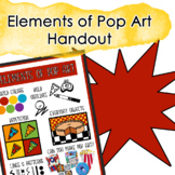 Elements of Pop Art Handout