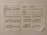 Elements of Proficiency Rubric-Student Reflection