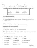 Elements of Prose, Poetry, Plays Quiz