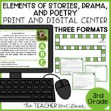 Elements of Stories, Dramas, and Poems | Stories, Dramas,