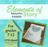 Elements of Story Interactive Foldable