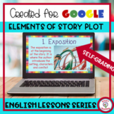 Elements of Story Plot Digital Resource for Google Classro