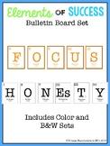 Science Bulletin Board Set (Elements of Success)