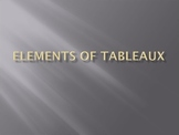 Elements of Tableau powerpoint