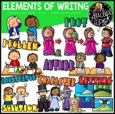 Elements of Writing (Fiction) {Educlips Clipart}