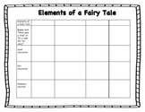 Elements of a Fairy Tale Worksheet