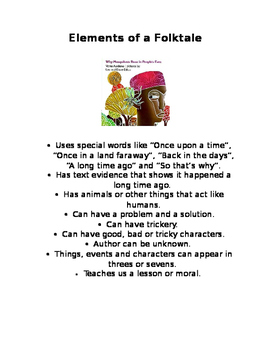 Elements of a Folk Tale