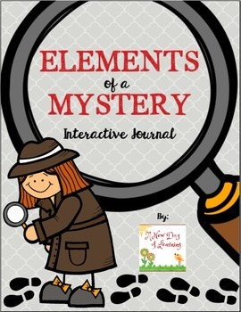 Elements of a Mystery & Evidence Interactive Notebook Activities