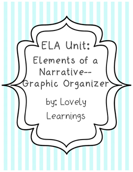 Elements of a Narrative Graphic Organizer