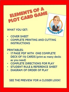 Elements of a Plot Card Game