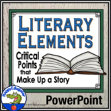 Literary Elements of a Short Story PowerPoint - Story Elements
