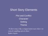 Elements of a Short Story Presentation
