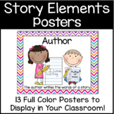 Story Elements - Author, Illustator, Characters & More!