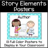 Elements of a Story Posters