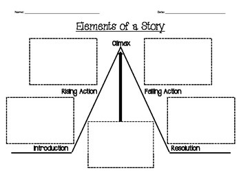 Elements of a Story Graphic Organizer