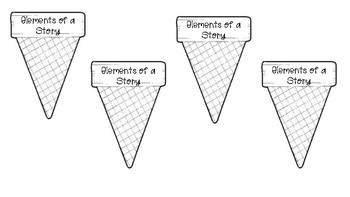 Elements of a Story Ice Cream