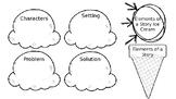 Elements of a Story Ice Cream Sundae