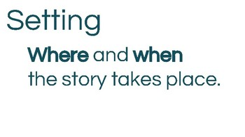 Elements of a Story Mini Lesson