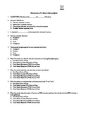 Elements of a short story quiz