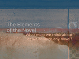 Elements of the Novel