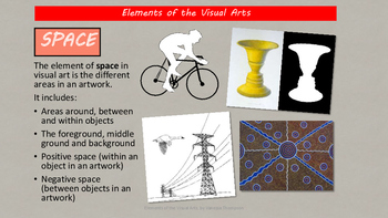 Elements of the Visual Arts with worksheets