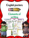 Elements of writing, English posters