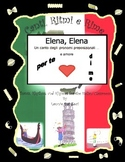 Italian Prepositional Pronouns (Elena, Elena ) with This Rap-like Chant with MP3