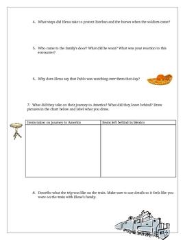 Elena Novel Unit Comprehension Questions Activities