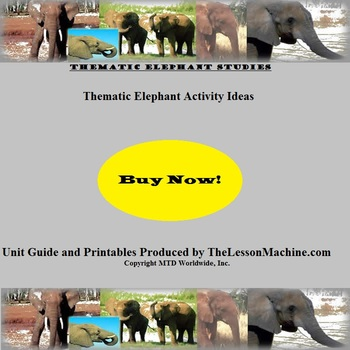 Elephant Activities Resource Page