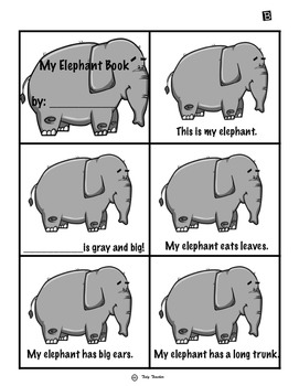 Elephant Book: Little Readers