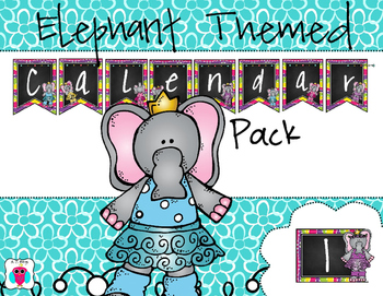 Elephant Calendar Pack