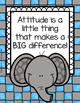 Elephant Classroom Posters