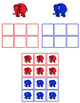 Elephant Color Sorting Folder Game for students with Autism