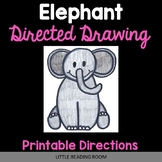 Mabel the Elephant Directed Drawing