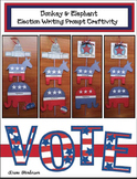 Election Activities: Elephant & Donkey Election Writing Prompt Craft